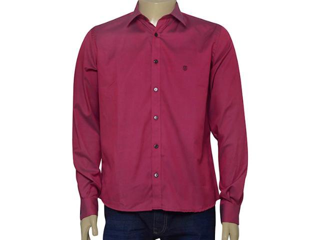 Camisa Masculina Individual 302.13186.001 Cereja