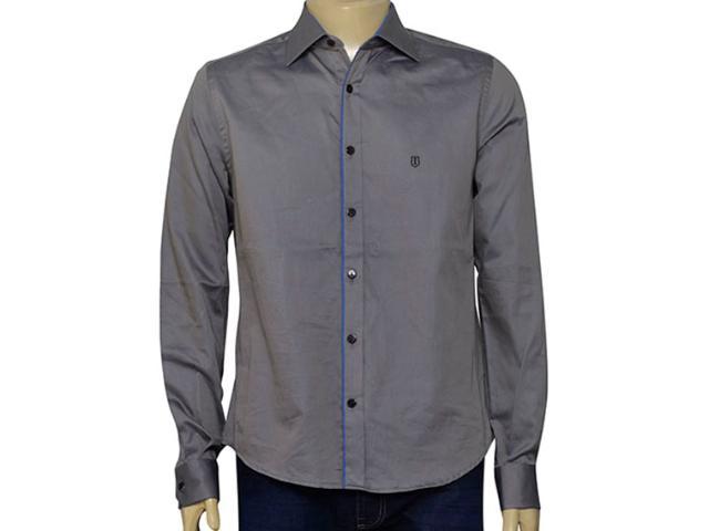 Camisa Masculina Individual 302.02658.001 Cinza