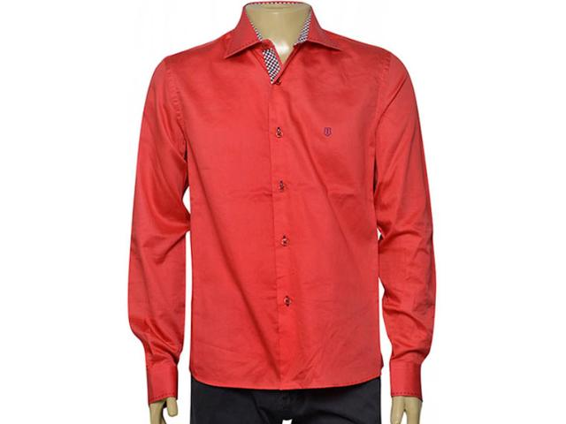 Camisa Masculina Individual 302.00981.002 Vermelho