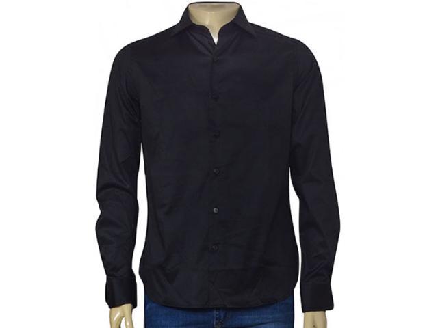 Masculina Camisa Individual 302.02068.006 Preto