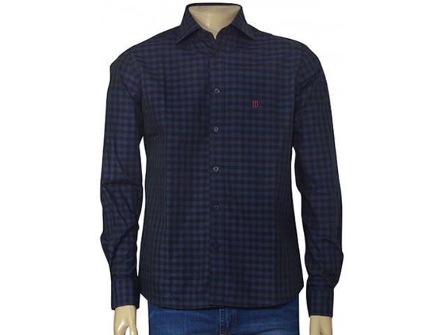 Camisa Masculina Individual 302.44698.001 Marinho/preto