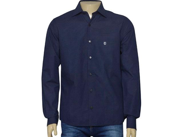 Camisa Masculina Individual 302.14179.002 Marinho