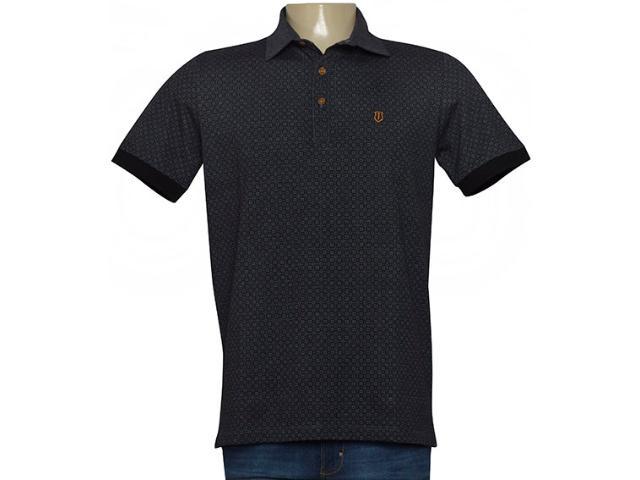 Camisa Masculina Individual 306.22222.390 Cinza Escuro