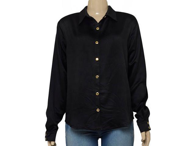 Camisa Feminina Moikana 1511108 Preto