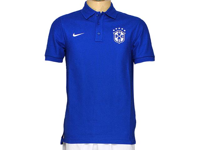 Camisa Masculina Nike 598253-493 Matchup Cbf co Azul