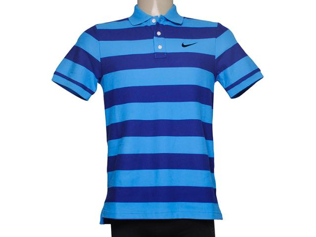 Camisa Masculina Nike 637624-463 Matchup Polo  Azul/marinho