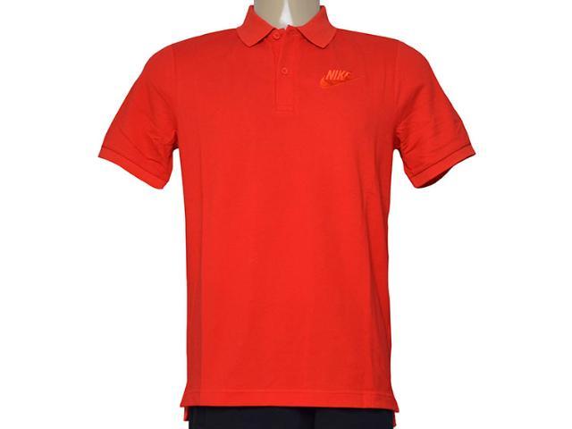 Camisa Masculina Nike 829360-657 m Nsw pq Matchup  Vermelho