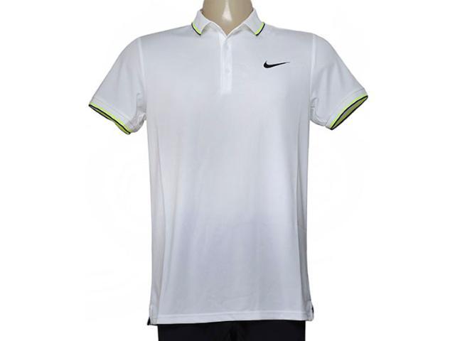 Camisa Masculina Nike 644776-102 Court Branco