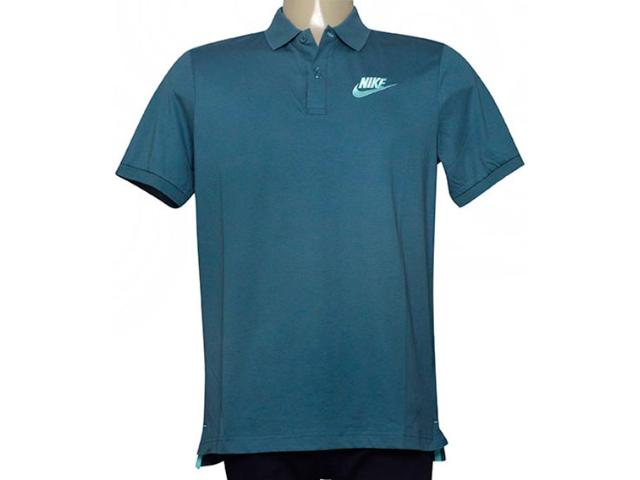 Camisa Masculina Nike 832865-374 Nsw Polo Verde