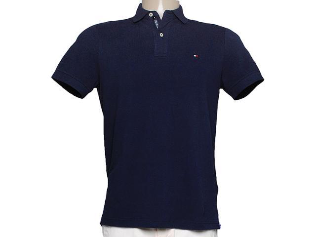 Camisa Masculina Tommy Thc837810655 Marinho