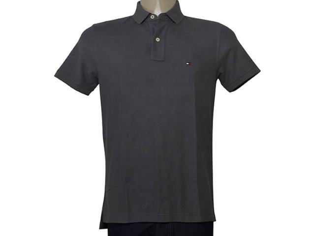 Camisa Masculina Tommy Th0857889250 Chumbo