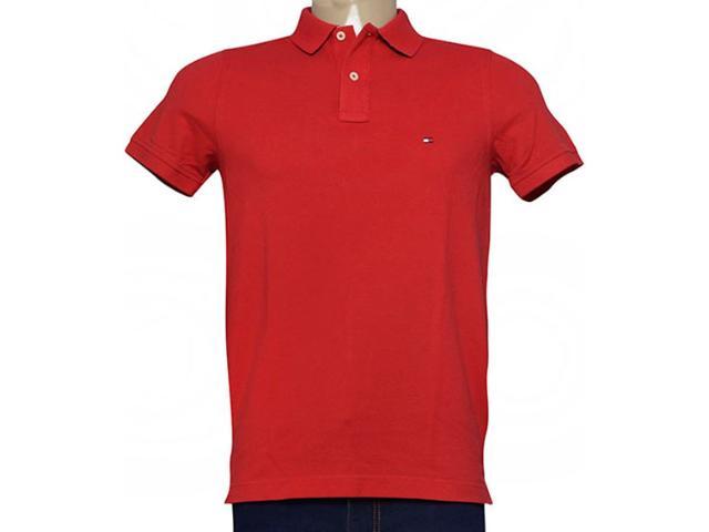 Camisa Masculina Tommy Th0857879131 Goiaba