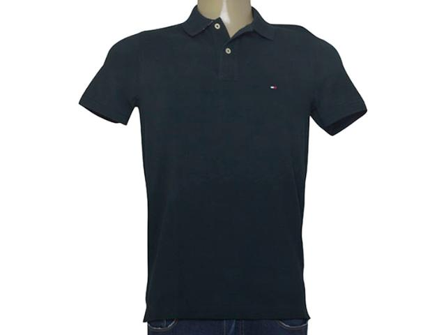 Camisa Masculina Tommy Th0857879131 Verde Musgo