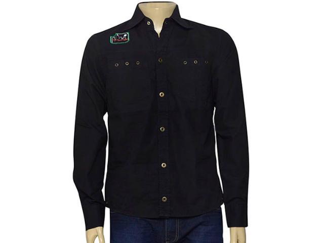 Camisa Masculina Young Spirit 1176002 Preto
