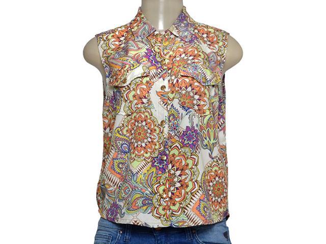 Camisa Feminina Zinco 201635 Estampado