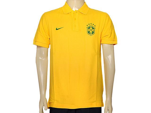 Camisa Masculina Nike 598253-703 Matchup Cbf Amarelo