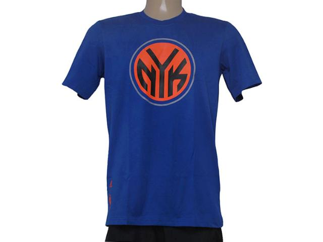 Camiseta Masculina Adidas S29939 Clubs Nba Azul