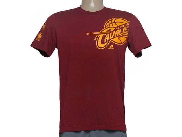 Camiseta Masculina Adidas Ac4391 Clu pt Nba Vinho