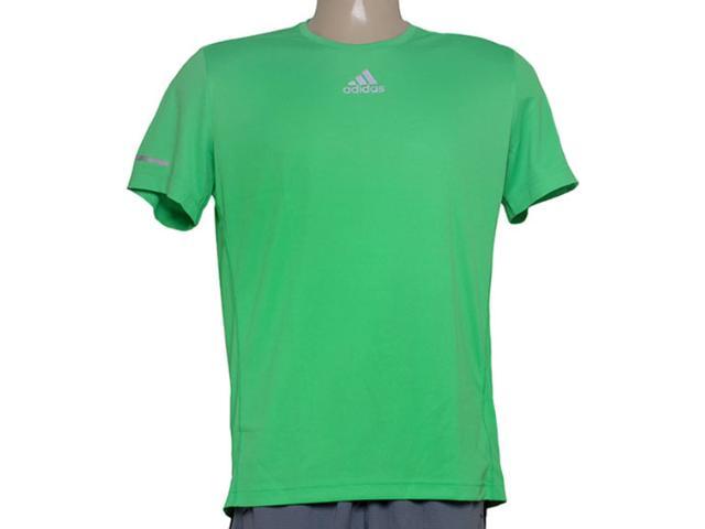 Camiseta Masculina Adidas Ac2473 Sequencials m Verde