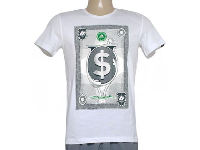Camiseta Masculina Adidas Aa4220 Wall Street  Branco