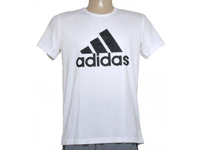 Camiseta Masculina Adidas S23015 Ess Logo Branco