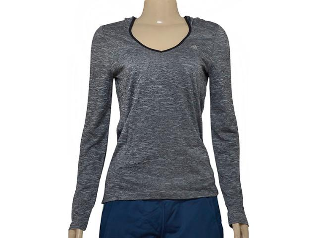 Camiseta Feminina Adidas Ao0149 Clima Mescla