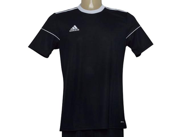 Camiseta Masculina Adidas Bj9173 Squad 17 Jsy Preto/branco