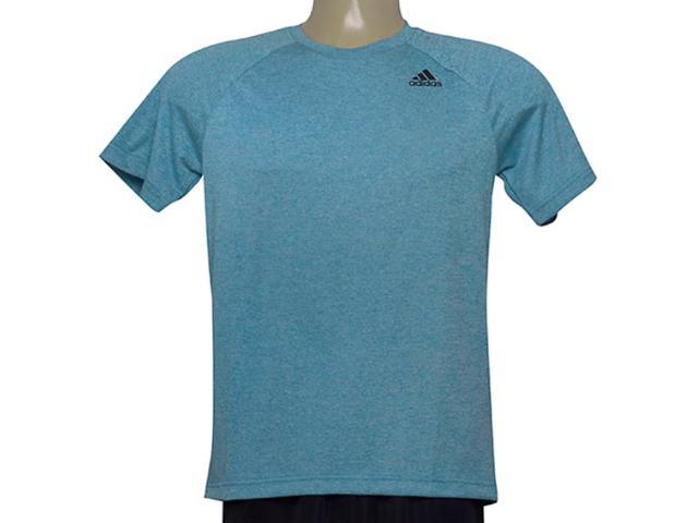 Camiseta Masculina Adidas Ce0293 D2m Tee ht Azul