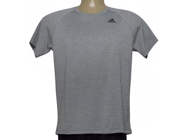 Camiseta Masculina Adidas Bj8607 D2m Tee ht Mescla