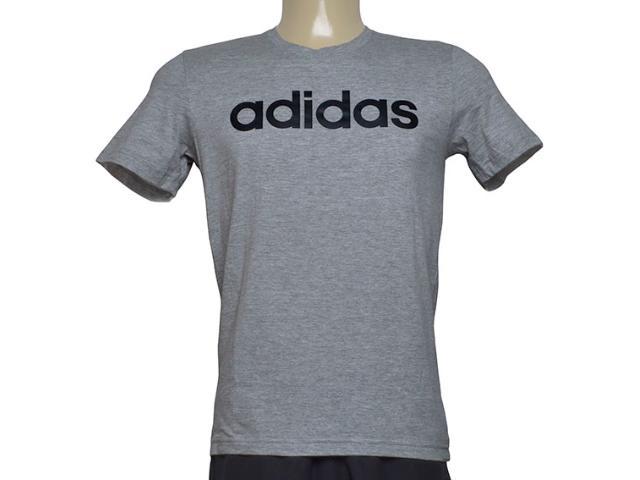 Camiseta Masculina Adidas Br4067 Comm m t Cinza