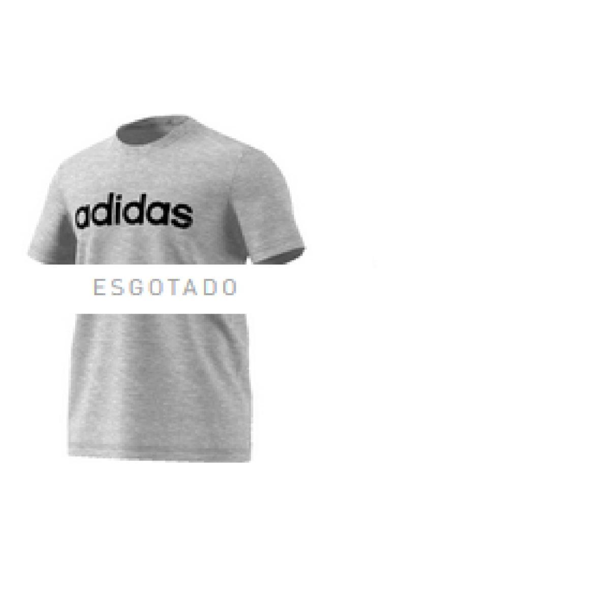 Camiseta Masculina Adidas Ei4580 m Grfx Lnr t 3 Cinza