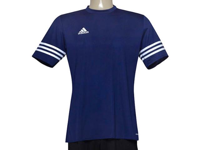 Camiseta Masculina Adidas F50487 Entrada 14 Marinho