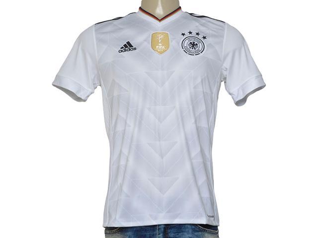 Camiseta Masculina Adidas B47873 Alemanha i Branco