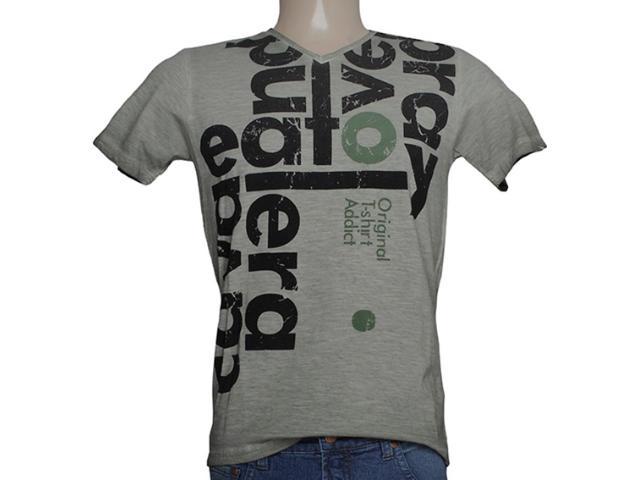 Camiseta Masculina Cavalera Clothing 01.01.7762 Verde Musgo