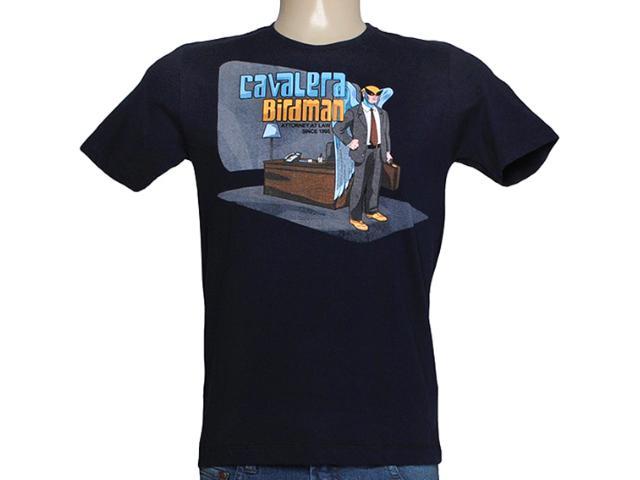Camiseta Masculina Cavalera Clothing 01.01.7742 Navy