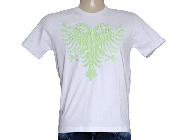 Camiseta Masculina Cavalera Clothing 01.01.7757 Branco