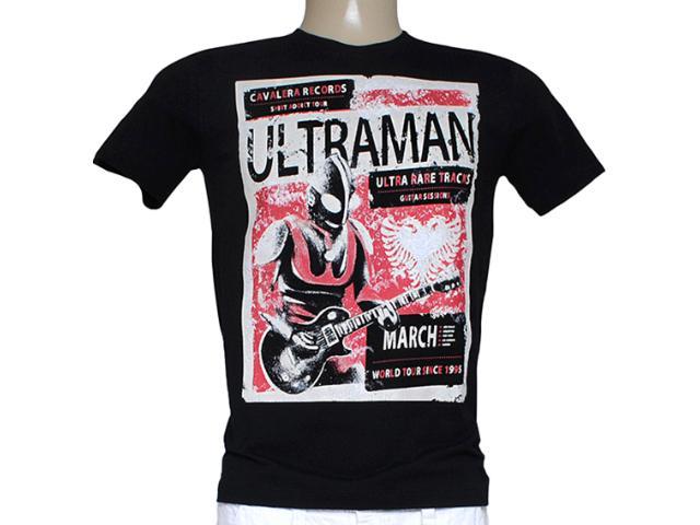Camiseta Masculina Cavalera Clothing 01.01.7809 Preto