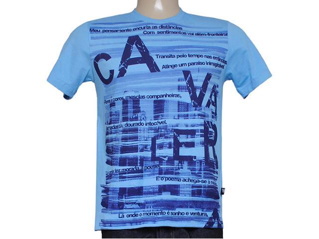 Camiseta Masculina Cavalera Clothing 01.01.7739 Celeste