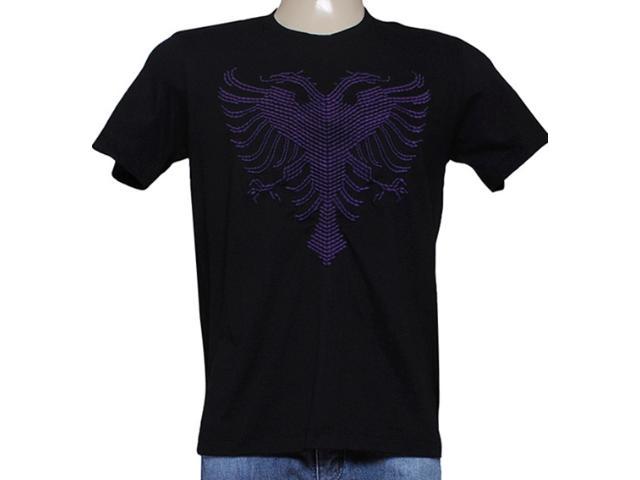 Camiseta Masculina Cavalera Clothing 01.01.7757 Preto