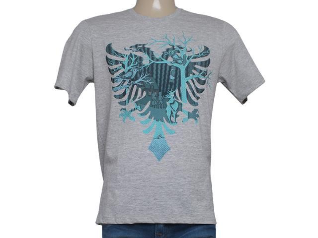 Camiseta Masculina Cavalera Clothing 01.01.8264 Aguia Mescla