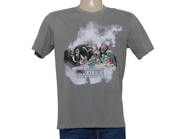 Camiseta Masculina Cavalera Clothing 01.01.8213 Cinza