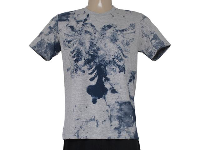 Camiseta Masculina Cavalera Clothing 01.01.8307 Mescla