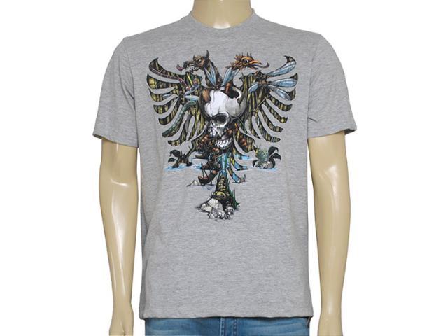 Camiseta Masculina Cavalera Clothing 01.01.8330 Mescla