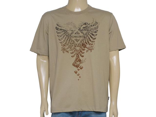 Camiseta Masculina Cavalera Clothing 01.01.8617 Caqui/marrom