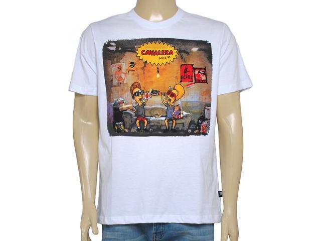 Camiseta Masculina Cavalera Clothing 01.01.8540 Branco