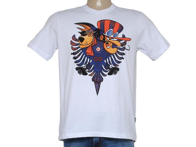 Camiseta Masculina Cavalera Clothing 01.01.8685 Branco