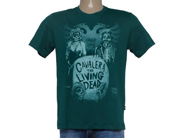 Camiseta Masculina Cavalera Clothing 01.01.8658 Verde