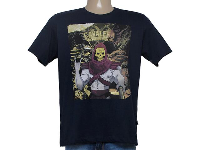 Camiseta Masculina Cavalera Clothing 01.01.8628 Marinho