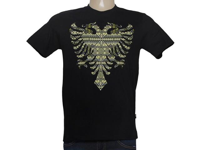 Camiseta Masculina Cavalera Clothing 01.01.8616 Preto