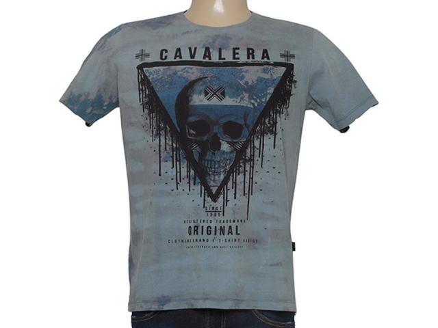 Camiseta Masculina Cavalera Clothing 01.01.8458 Cinza Estonado